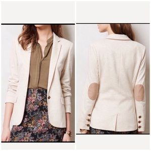 Anthropologie Cartonnier Dotside Blazer Small